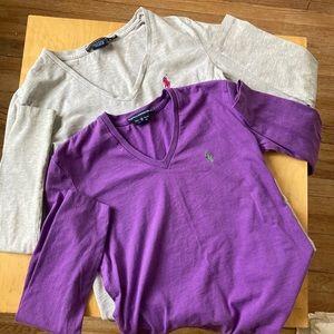 2 Ralph Lauren Sport Shirts